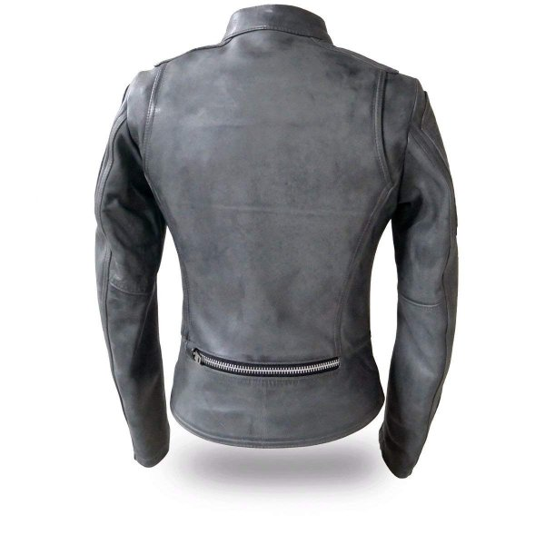 First Mfg Co Mens Carbon Leather Jacket Brown XXX-Large