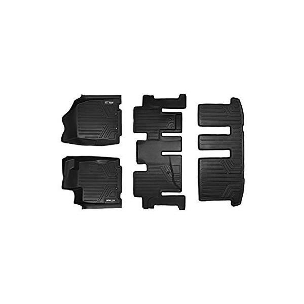 2013 Infiniti JX35 2014-2019 QX60 SMARTLINER Custom Fit Floor Mats 2 Row Liner Set Black for 2013-2019 Nissan Pathfinder