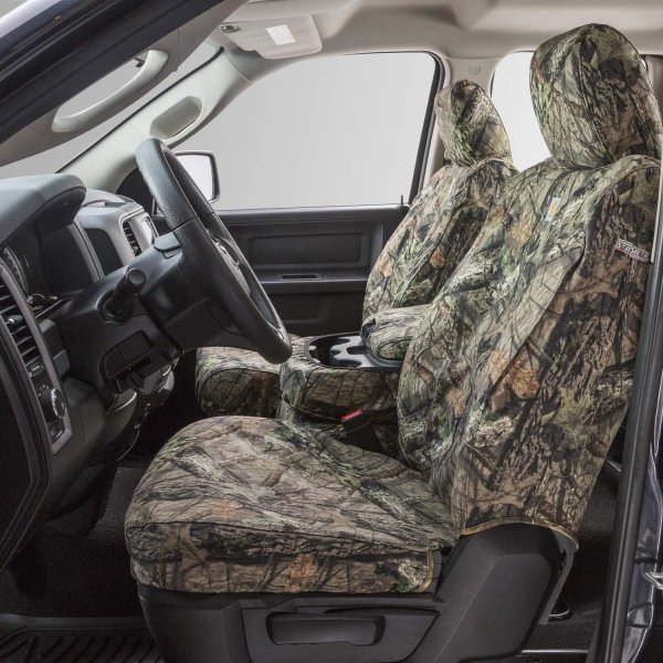 Duck Weave Brown Covercraft Carhartt SeatSaver Front Row Custom Fit Seat Cover for Select Chevrolet//GMC Models