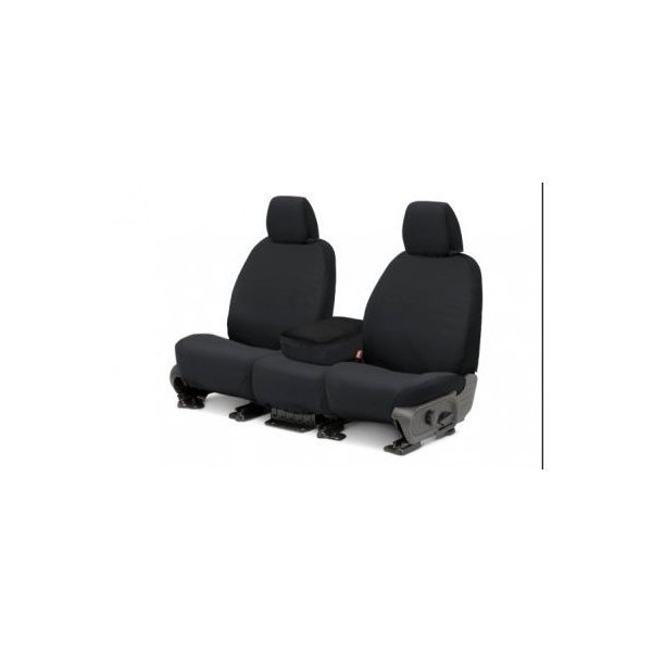 Covercraft SS3430PCCH SeatSaver Front Row Custom Fit Seat Cover for Select Ram Pickup Models Polycotton Charcoal