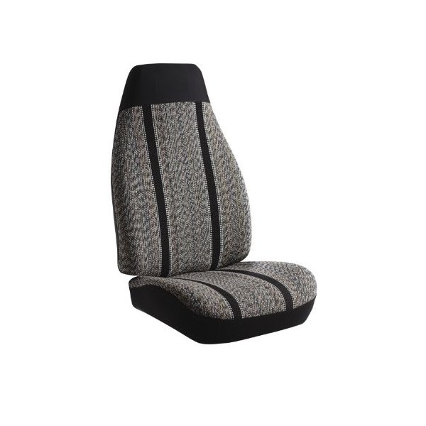 Fia TR47-30 BLACK Custom Fit Front Seat Cover Split Seat 40//20//40 Black Saddle Blanket,