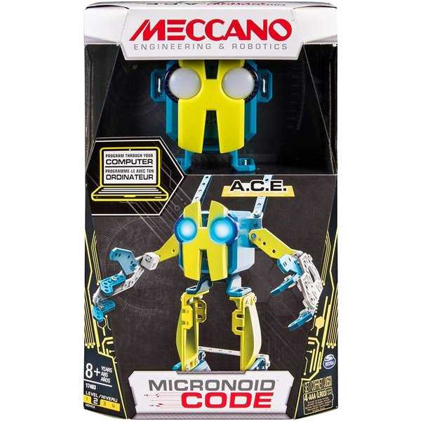 MECCANO-Erector-Micronoid Code A.C.E.プログラム可能なロボット構築キット|hal-proshop|07
