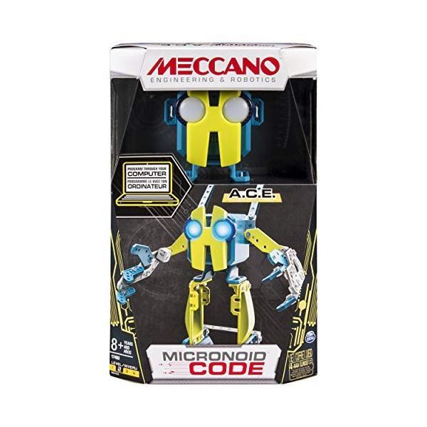 MECCANO-Erector-Micronoid Code A.C.E.プログラム可能なロボット構築キット|hal-proshop|08
