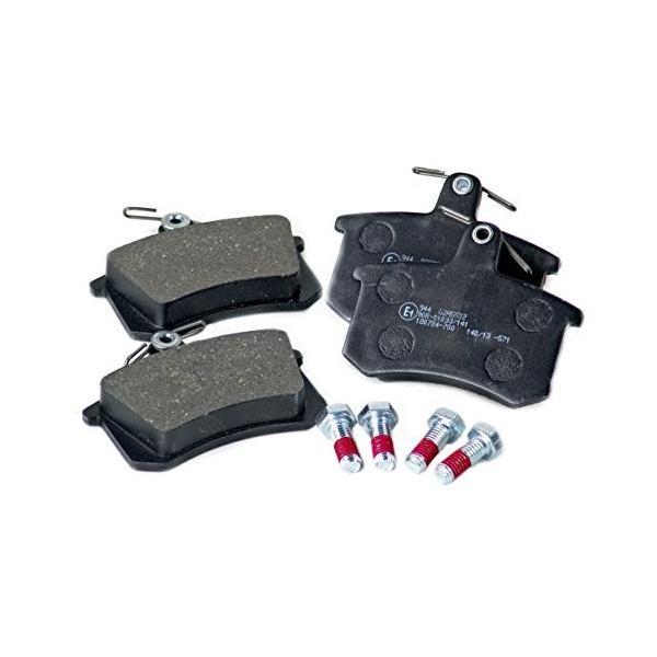 BLAU D2A5502-K Brake Pads - Rear - Compatible with 1989-91 Audi 200 -