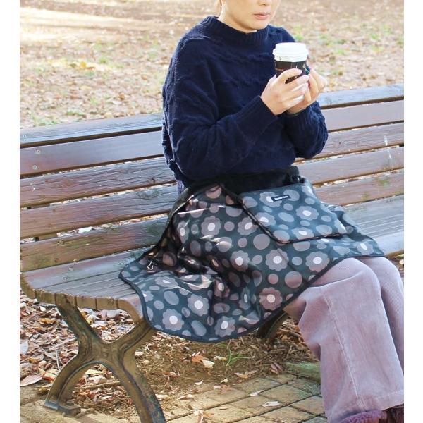 ポケット付ひざ掛け ブランケット マタニティ ベビーブランケット 毛布 チャイルドシート 防寒 軽量 ハンナフラ Hanna Hula【1点のみ配送でネコポスOK】|hal|11