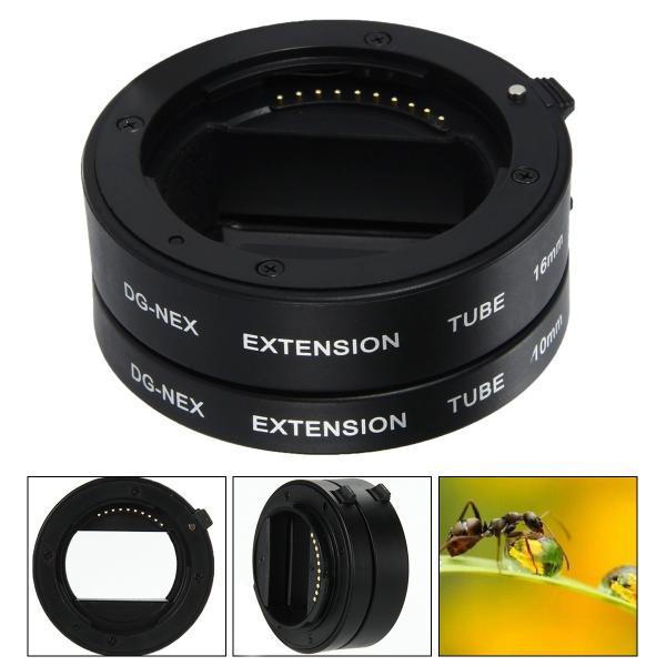 接写リング マクロエクステンション チューブ Sony E-Mount A6000 A5000 NEX-5R NEX-3N C3用 LF434 XCSOURCE