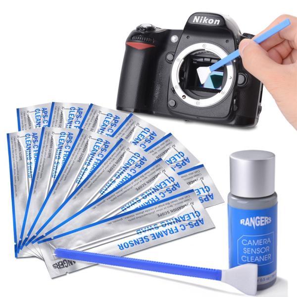 センサークリーニング スワブ カメラクリーニング用品 清掃用品 12個 APS-C センサースワブ + 15ml クリーナーセット RA113 RANGERS