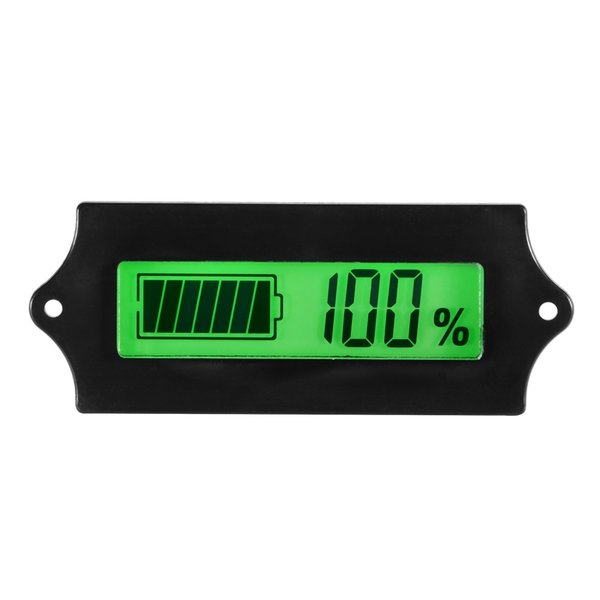 12/24/36/48V 電圧計 バッテリーチェッカー 残量計 自動車用 TE619 XCSOURCE|halhal