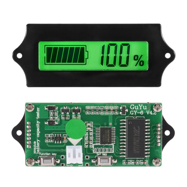 12/24/36/48V 電圧計 バッテリーチェッカー 残量計 自動車用 TE619 XCSOURCE|halhal|02