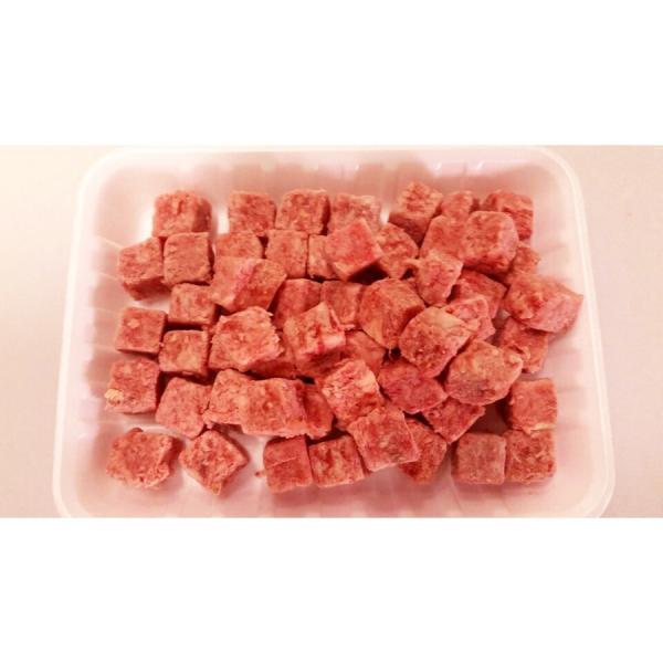 牛肉 サイコロステーキ 1kg 成型肉(脂入)|halla-mart|03