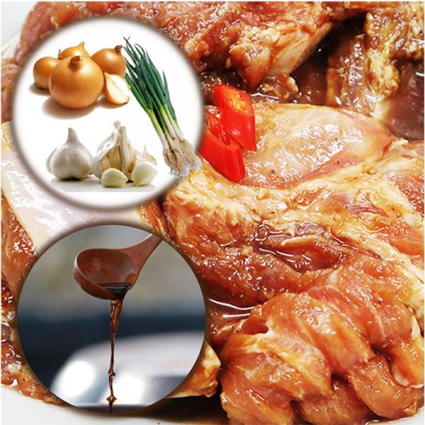 豚骨付きカルビ 味付け 1kg スペアリブ 自慢の自家製 |halla-mart|03