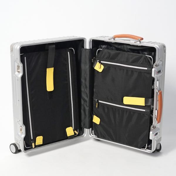 イノベーター アルミスーツケース メーカー直送  Sサイズ 2年保証付き INV1811 1〜2日 機内持ち込み 36L innovator TSAロック搭載 ダイヤルロック|haloaboxart|02