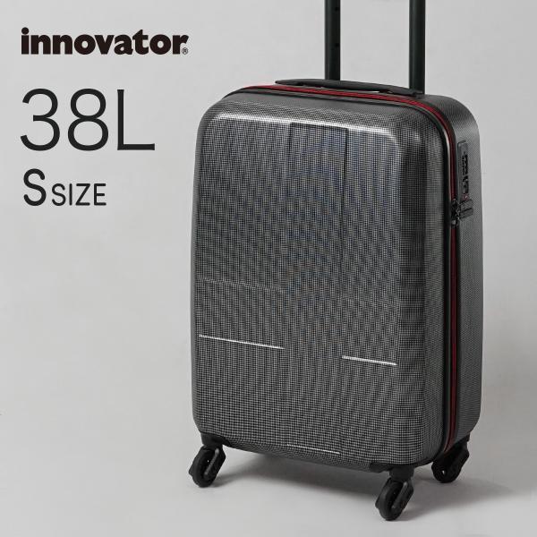 fd7e7a363e イノベーター スーツケース Sサイズ ファスナータイプ INV48 1〜2日 機内持ち込み 38L innovator ...