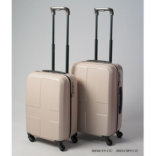 イノベーター スーツケース INV55 Mサイズ 50L 3〜4日 ファスナータイプ innovator メーカ―直送 haloaboxart 11