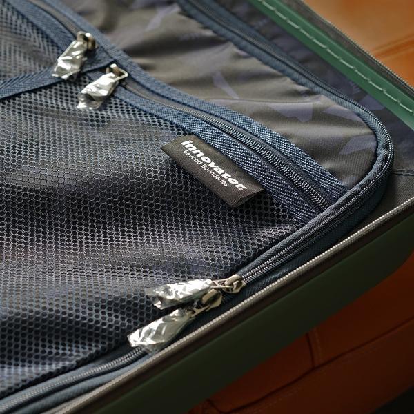 イノベーター スーツケース INV55 Mサイズ 50L 3〜4日 ファスナータイプ innovator メーカ―直送 haloaboxart 09