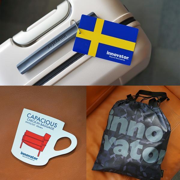 イノベーター スーツケース INV55 Mサイズ 50L 3〜4日 ファスナータイプ innovator メーカ―直送 haloaboxart 10