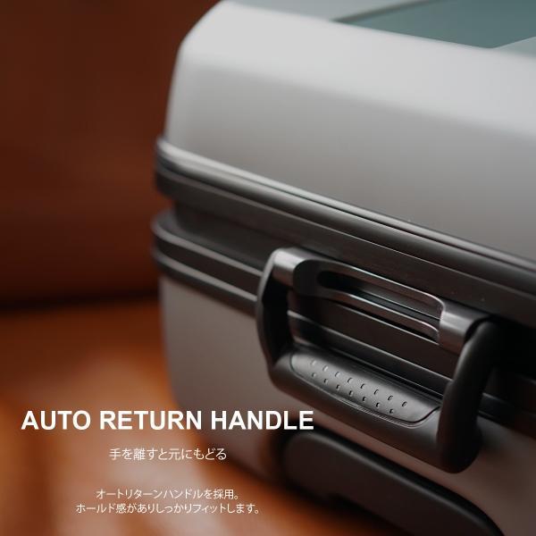 イノベーター スーツケース INV58T 限定色 Mサイズ 60L 4〜5日 フレームタイプ innovator メーカ―直送|haloaboxart|05