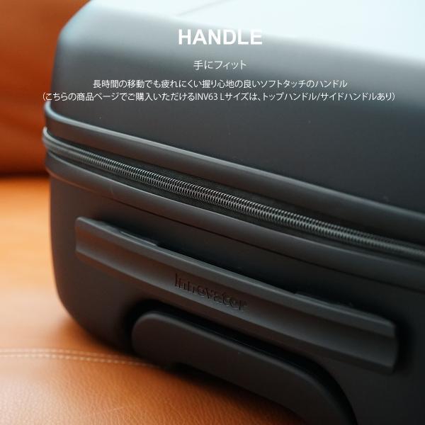 イノベーター スーツケース INV63 Lサイズ 70L 5〜6日 ファスナータイプ innovator メーカー直送|haloaboxart|04