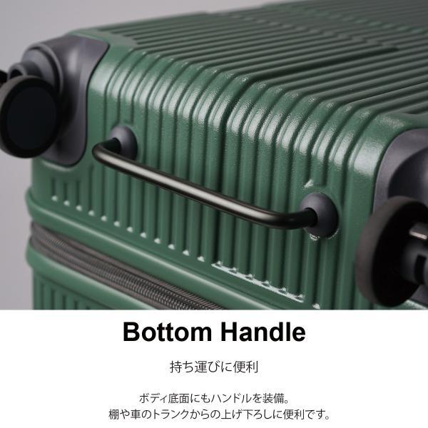 イノベーター スーツケース INV70 Mサイズ 75L 6〜7日用 ファスナータイプ エクストリーム innovator メーカ―直送|haloaboxart|04
