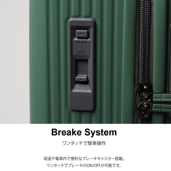 イノベーター スーツケース INV70 Mサイズ 75L 6〜7日用 ファスナータイプ エクストリーム innovator メーカ―直送|haloaboxart|06
