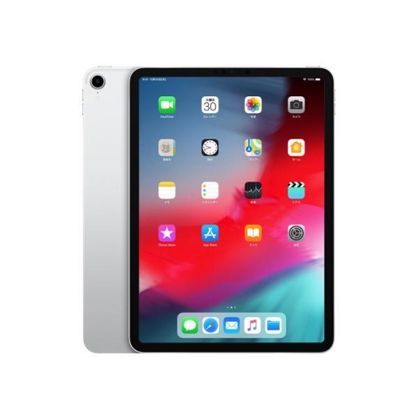 iPad Pro 11インチ Liquid Retinaディスプレイ Wi-Fiモデル 256GB - シルバー MTXR2J/A 2018年モデル [256GB]の画像