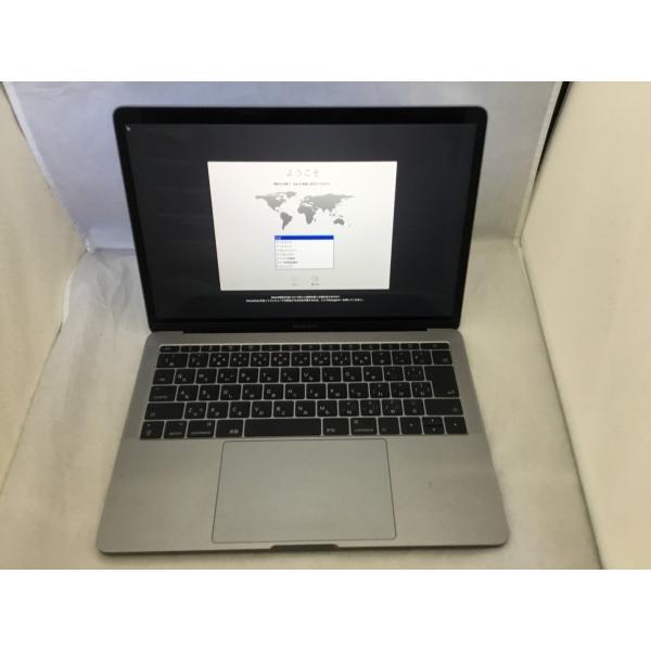 MacBookPro 13インチモデル[2017年/SSD 128GB/メモリ 8GB/2.3GHzデュアルコア Core i5]スペースグレイ MPXQ2J/Aの画像