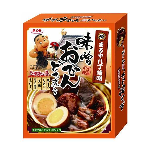 おでん 名古屋 お土産 味噌 レトルト 味噌おでん どて煮入り