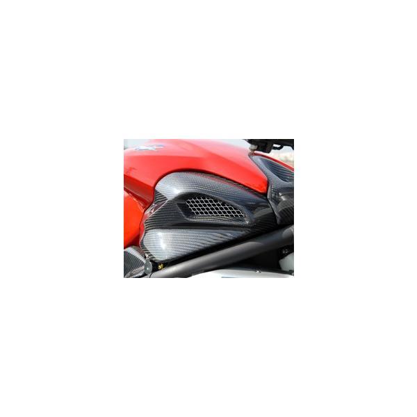 Mv Agusta BrutaleブルターレS(03年) エアダクトカバー/平織りカーボン製 MAGICAL RACING(マジカルレーシング)|hamashoparts