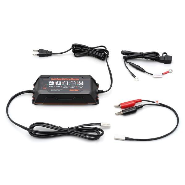 【あすつく対象】スイッチングバッテリーチャージャー12V(回復微弱充電器) DAYTONA(デイトナ) hamashoparts 05