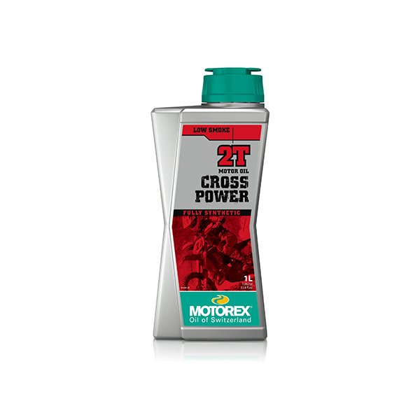 【あすつく対象】クロスパワー 2T 1リットル 2サイクルエンジンオイル MOTOREX(モトレックス) hamashoparts