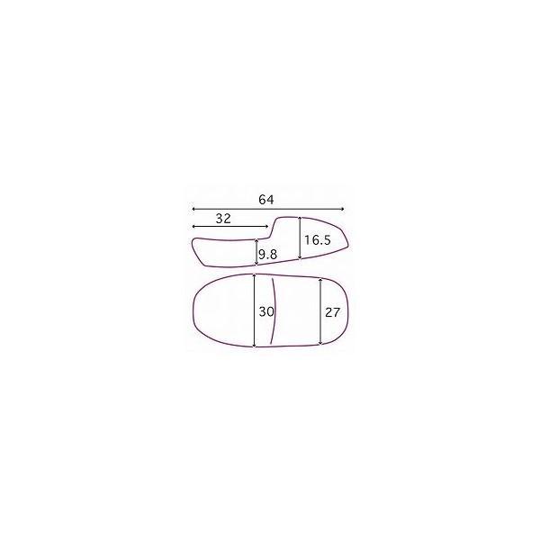CB1100EX?CB1100DLX(14?16年) シングルシート サイドステッチ K&H(ケイアンドエイチ)|hamashoparts|02