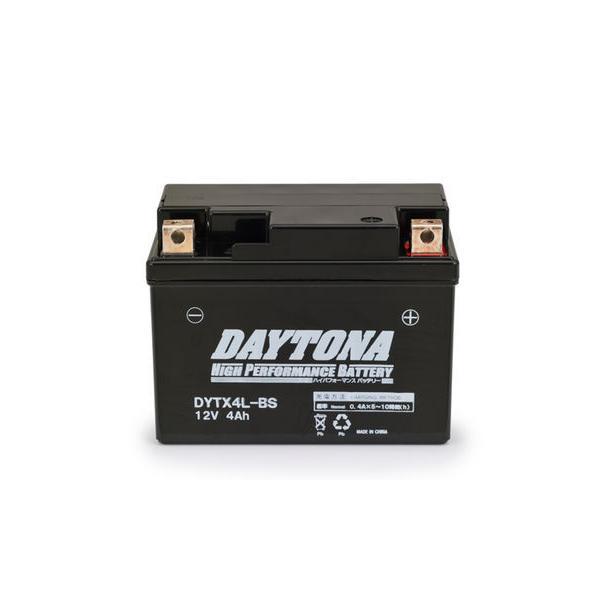 ディオ(Dio)AF62・AF68 ハイパフォーマンス メンテナンスフリー バッテリー DYTX4L-BS(YTX4L-BS互換) DAYTONA(デイトナ) hamashoparts