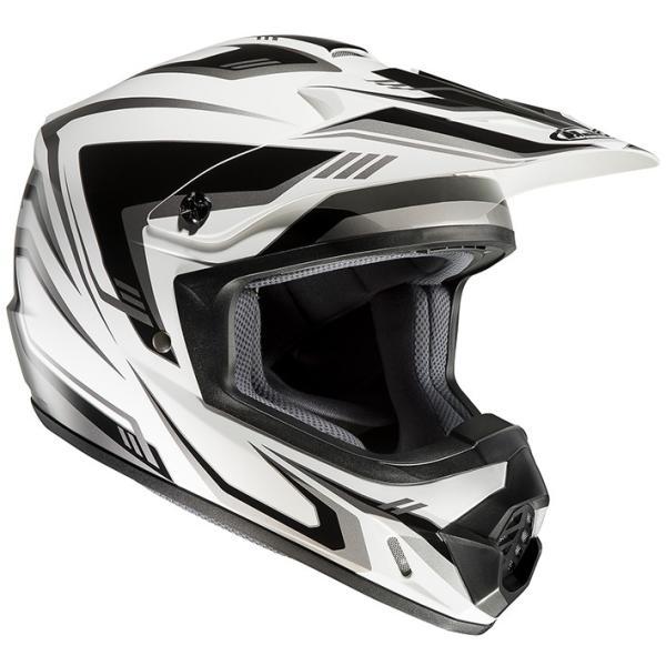HJH123 CS-MX2エッジ オフロードヘルメット ブラック/レッド M(57-58)サイズ HJC|hamashoparts