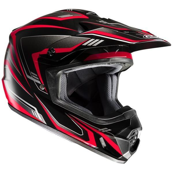 HJH123 CS-MX2エッジ オフロードヘルメット ホワイト/ブラック S(55-56)サイズ HJC|hamashoparts