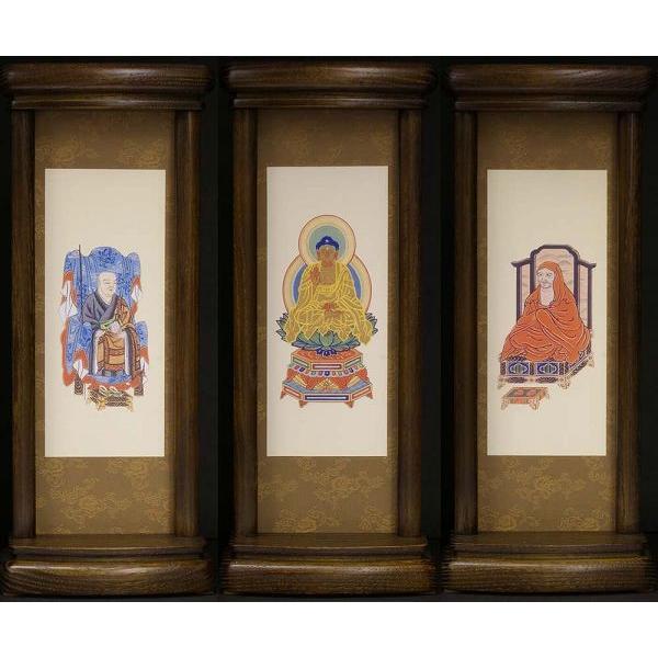 スタンド型掛軸 御本尊セット  禅宗用   大サイズ   お仏壇・仏具の浜屋