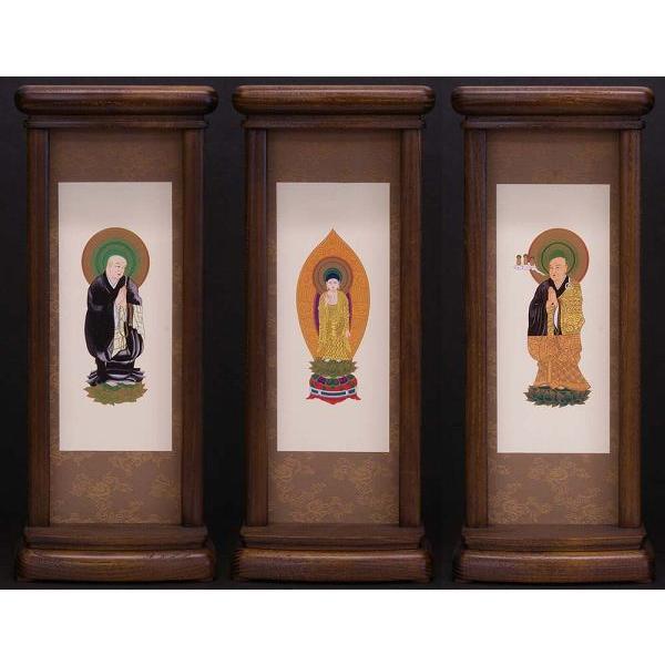 スタンド型掛軸 御本尊セット  浄土宗用   大サイズ   お仏壇・仏具の浜屋