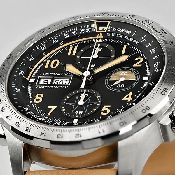 94b339b9e5 ... Hamilton ハミルトン 公式 腕時計 Khaki X-wind Auto Chrono Limited Edition カーキ X- ウィンド ...