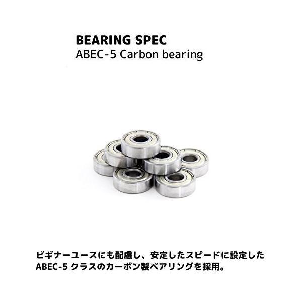 DUB STACK(ダブスタック) スケートボード DSB-7 31インチ コンプリートセット 【ABEC5ベアリング採用】|hamuhamu|03