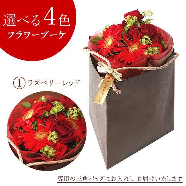 誕生日 プレゼント 贈り物 アレンジメント ギフト 花束 切花 花とスイーツ 生花|hana-collabo|05