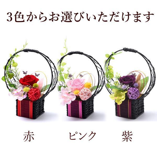 母の日 花 ギフト 母の日プレゼント 2019 mothersday プリザーブドフラワー 花とスイーツ 和菓子|hana-collabo|13