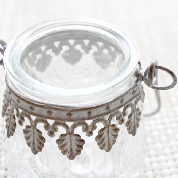 フラワーベース 花瓶 ガラスとスチールのおしゃれなフラワーベース デイビス・ヨークベース|hana-kazaru|02
