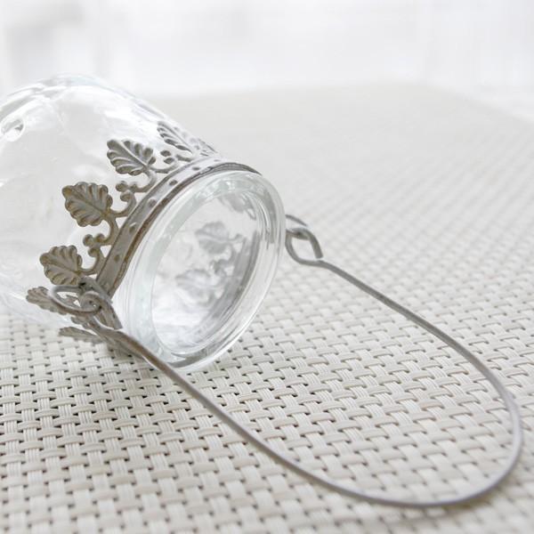 フラワーベース 花瓶 ガラスとスチールのおしゃれなフラワーベース デイビス・ヨークベース|hana-kazaru|03
