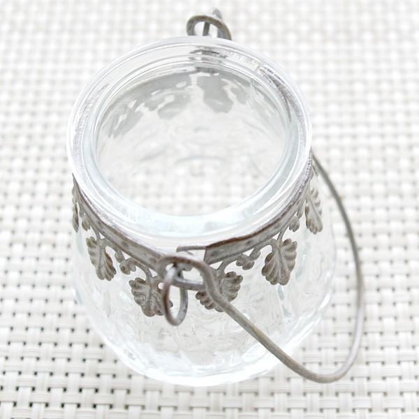 フラワーベース 花瓶 ガラスとスチールのおしゃれなフラワーベース デイビス・ヨークベース|hana-kazaru|06