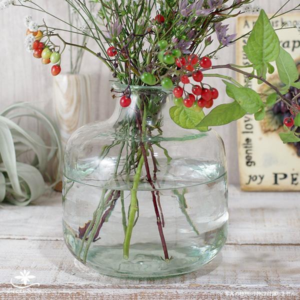 フラワーベース 花瓶 ガラス クラシカルガラスフラワーベースB|hana-kazaru|02