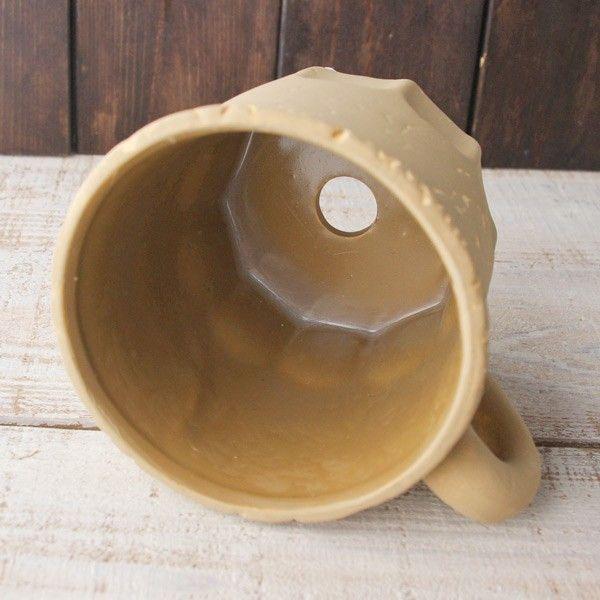 プランター おしゃれ 植木鉢 カッププランター カフェブラウン 3.5号|hana-kazaru|03
