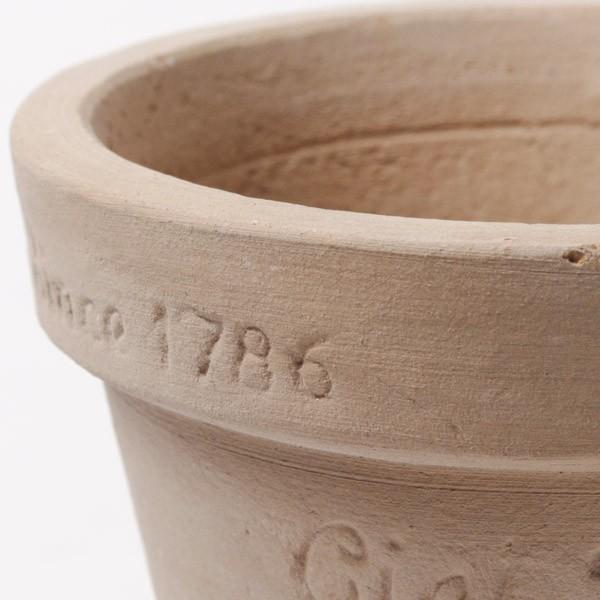 プランター おしゃれ 植木鉢 素焼きのナチュラルプランター ラウンド ミニ 約3.5号|hana-kazaru|03