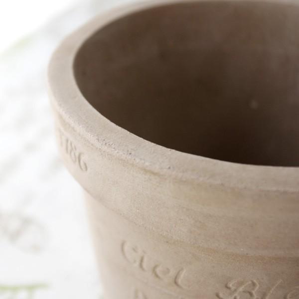 プランター おしゃれ 植木鉢 素焼きのナチュラルプランター ROUND S 5号|hana-kazaru|03