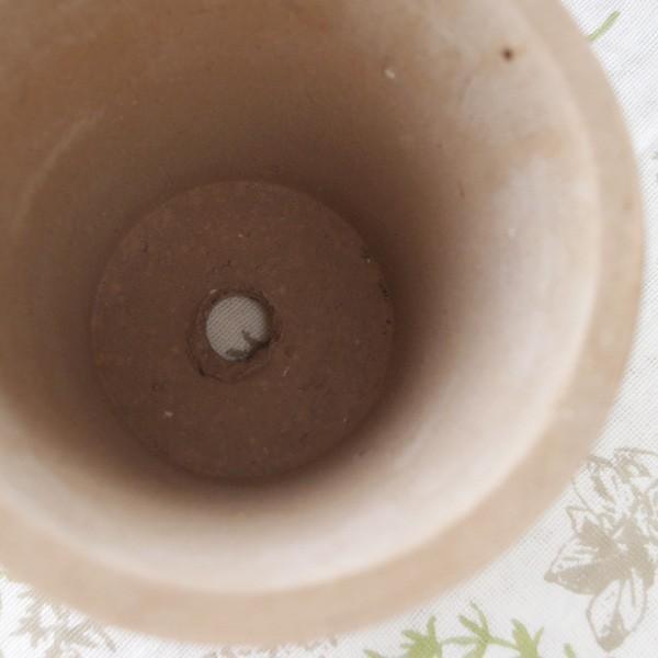 プランター おしゃれ 植木鉢 素焼きのナチュラルプランター ROUND S 5号|hana-kazaru|04