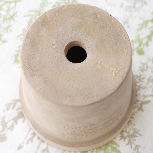 プランター おしゃれ 植木鉢 素焼きのナチュラルプランター ROUND S 5号|hana-kazaru|05