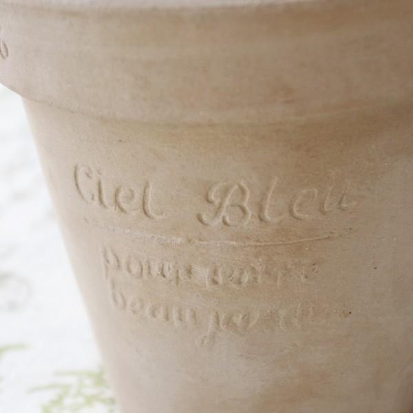 プランター おしゃれ 植木鉢 素焼きのナチュラルプランター ROUND S 5号|hana-kazaru|06